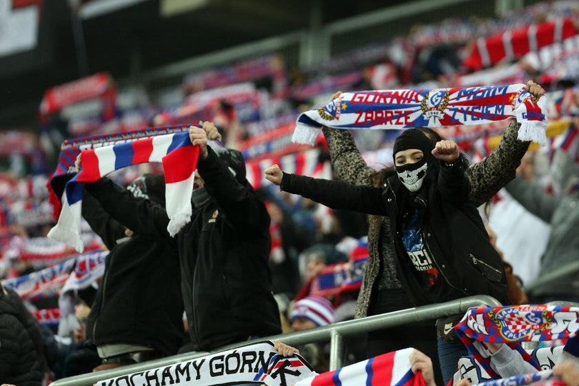 Pilka nozna. Ekstraklasa. Gornik Zabrze - Cracovia Krakow. 18.12.2017