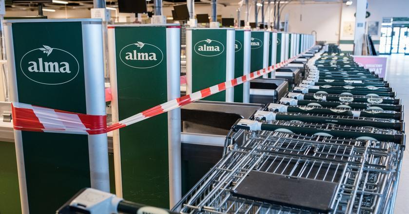 Alma urosła jeszcze na giełdzie o informacjach o sprzedaniu części sklepów