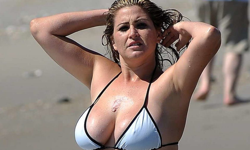 Modelka Playboya XXL. Foto