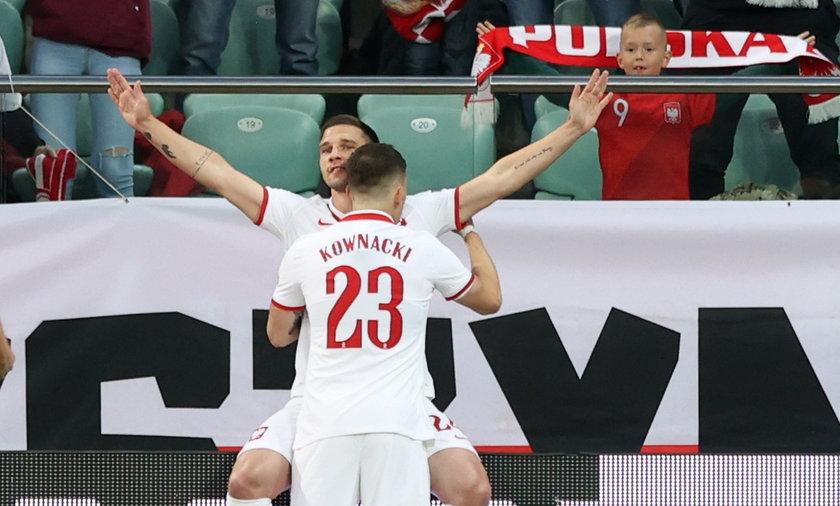 Pilka nozna. Reprezentacja. Mecz towarzyski. Polska - Rosja. 01.06.2021