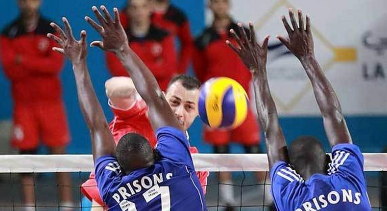 Kenya Prisons vs Al Ahly at the Africa Men Club Championship in Tunisia