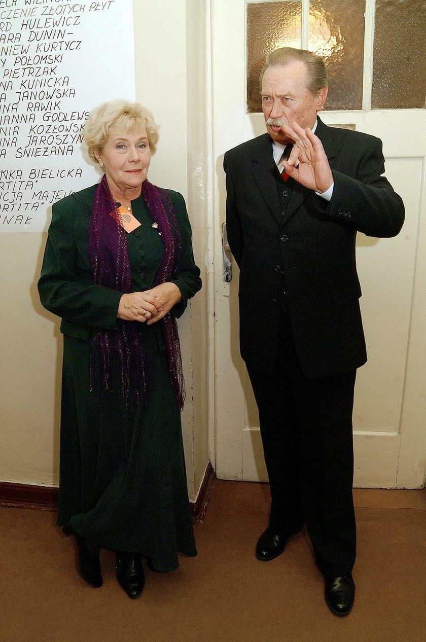 Emil Karewicz i Teresa Lipowska