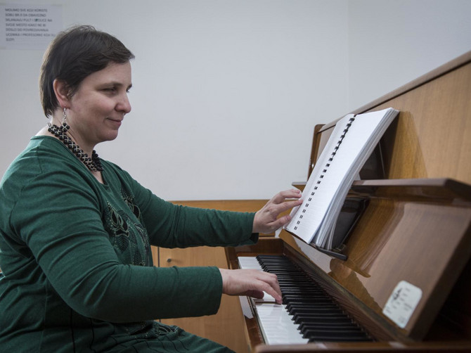 Danijela je pijanista i profesor, ali i prva slepa osoba koja je u poslednjih 60 godina završila Muzičku akademiju