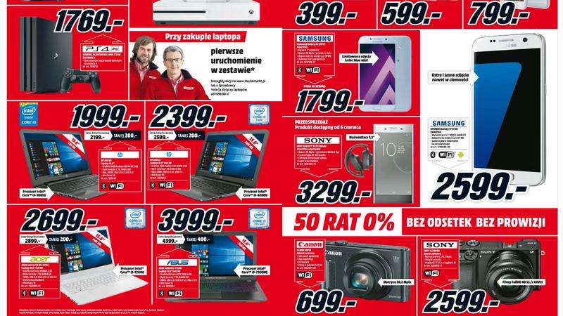 Prześwietlamy promocje - gazetka Media Markt (12-18 maj 2017)