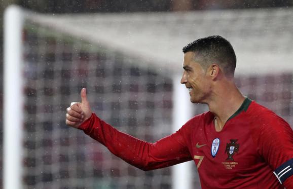 Kristijano Ronaldo fudbalska reprezentacija Portugala