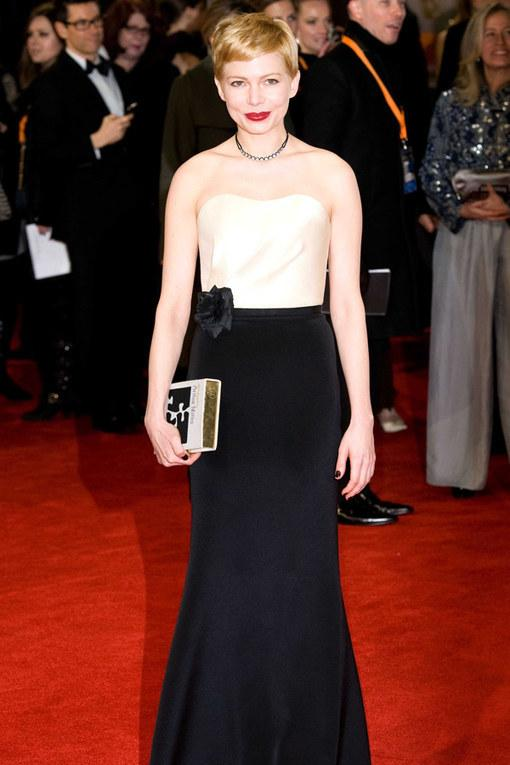 Michelle Williams BAFTA 2012