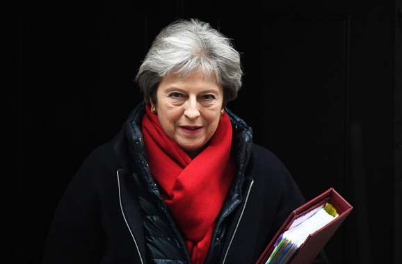 Tereza Mej, premijerka Velike Britanije