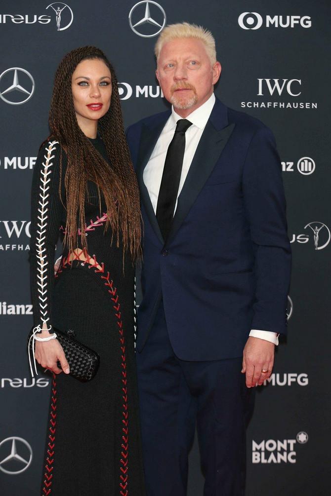 Lili i Boris Beker