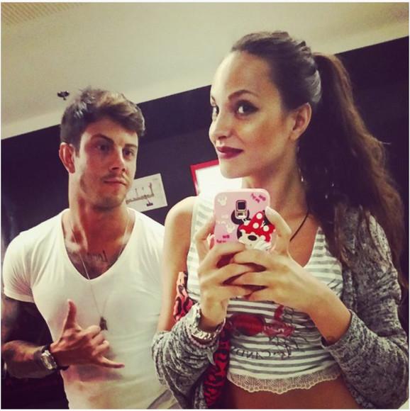 Filip i Ružica selfi u ogledalu