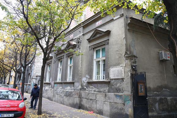 Hilandarska 7, dom Laze Lazarevića