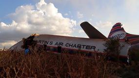 Katastrofa samolotu czarterowego w RPA. Ok. 20 osób rannych