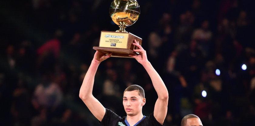Ten 19-letni młokos wygrał konkurs wsadów na Meczu Gwiazd NBA! WIDEO