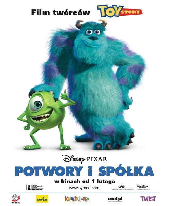 Potwory I Spółka Plakaty Film