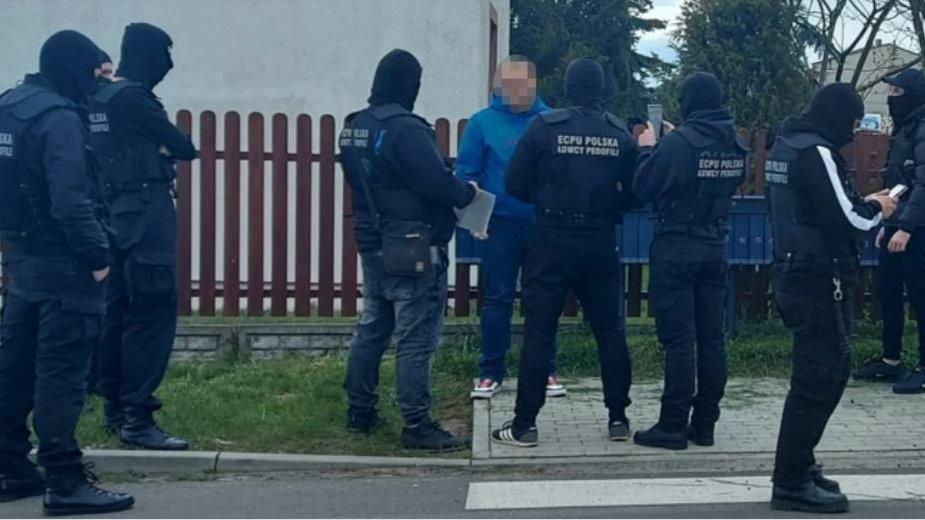 Grupa ECPUP w trakcie zatrzymania