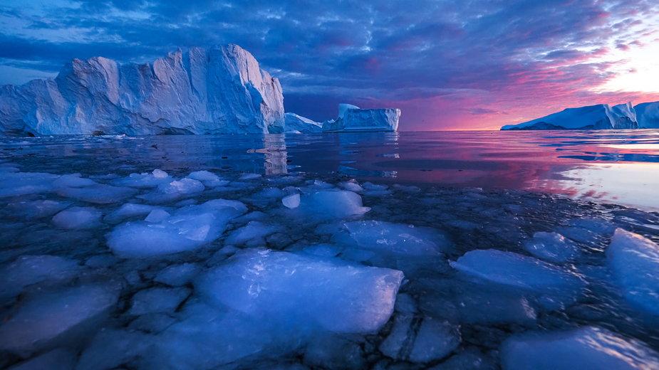 Wieczór na Oceanie Arktycznym