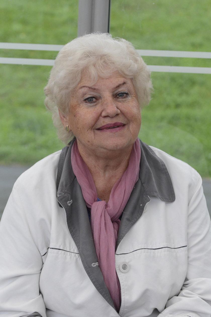 Zofia Kustra (72 l.), pasażerka