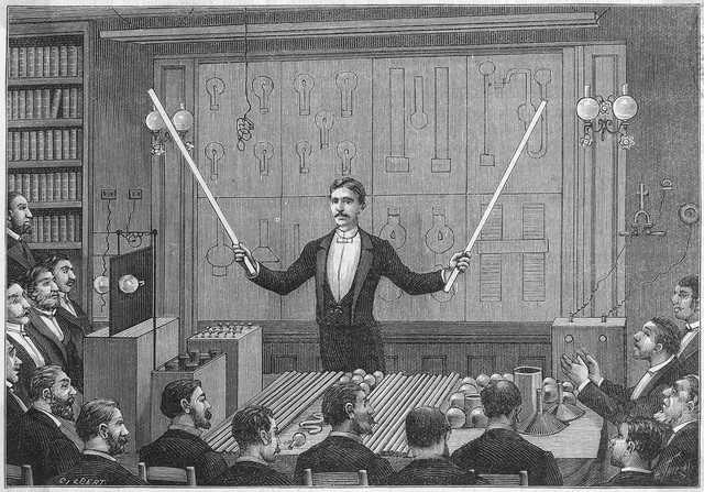 Nikola Tesla, serijal