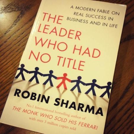 Sharma's book 'The Leader Who Had No Title'