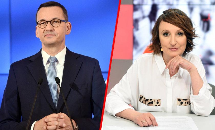 Mateusz Morawiecki i Agnieszka Burzyńska