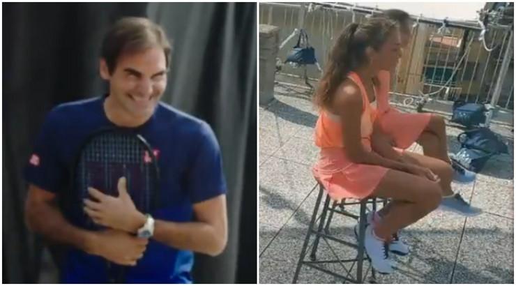 Federer i devojčice