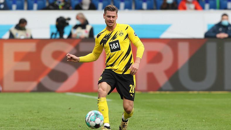 Łukasz Piszczek w barwach Borussii Dortmund