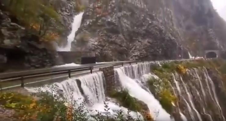 Kanjon Morače bujica