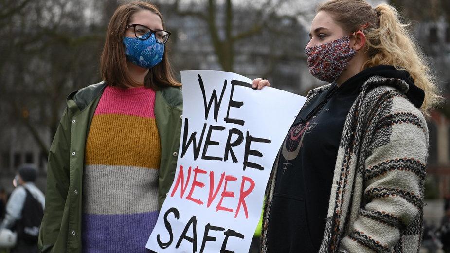 Protesty kobiet po zabójstwach