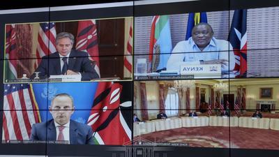 Details of Uhuru's meeting with U.S Secretary of State Anthony Blinken