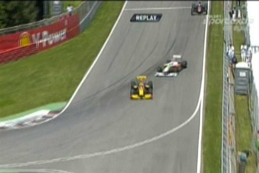 Kubica w Montrealu stoczył zacięte pojedynki z Schumacherem i Sutilem