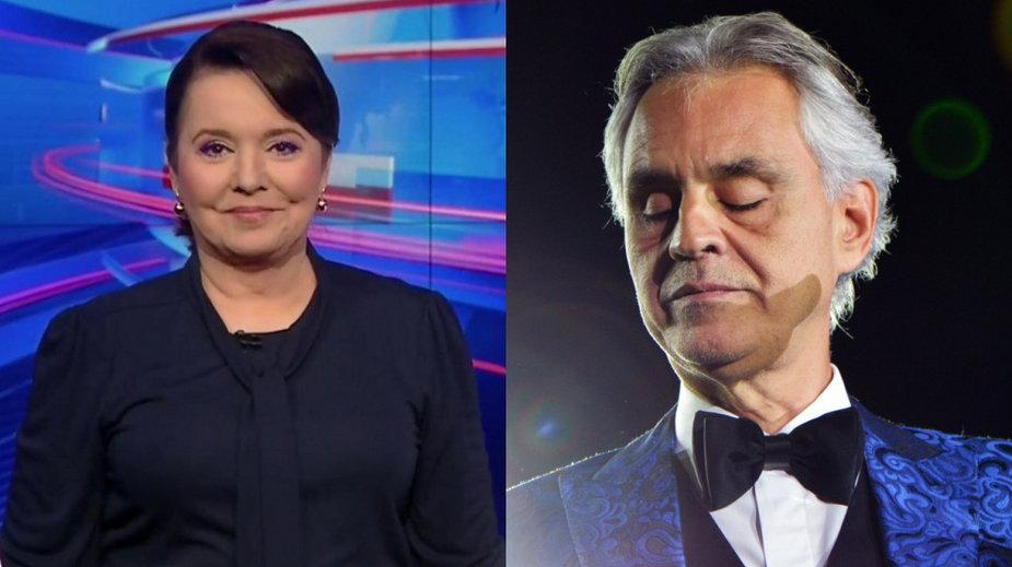 Danuta Holecka (tvp.vod.pl) i Andrea Bocelli