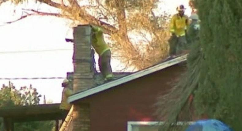 Intruder dies in California chimney after homeowner lights fire