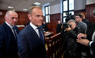 Szef klubu PO Sławomir Neumann: Donald Tusk w sądzie 'rozbił' wszystkie pytania z tezą