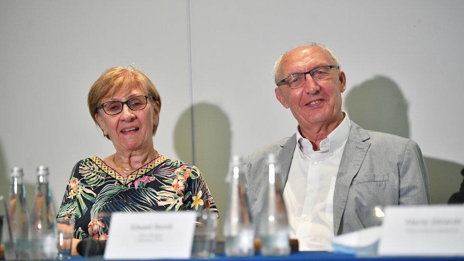 Krystyna Jakubowska i Edward Skorek