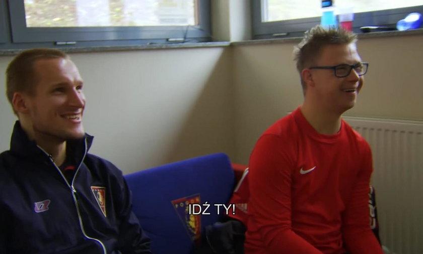 Jarosław Fojut z Pogoni wspiera osoby z zespołem Downa
