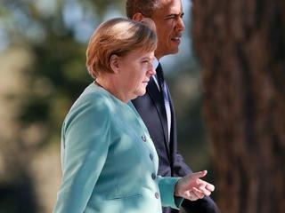 Barack Obama Angela Merkel