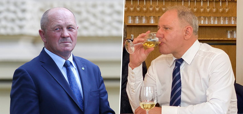 Kolega klubowy Jacka Protasiewicza ujawnia, dlaczego poseł pije wino w czasie pracy