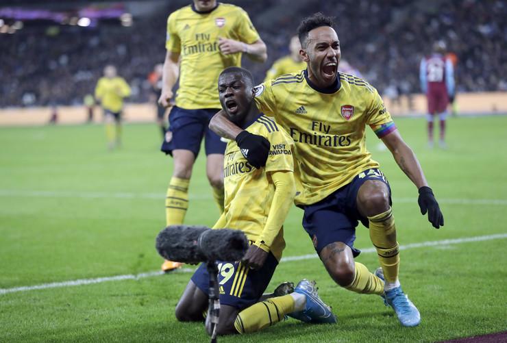 Arsenal, Vest Hem