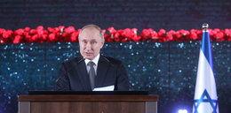 Putin zaskoczył wszystkich. O tym mówił w Izraelu