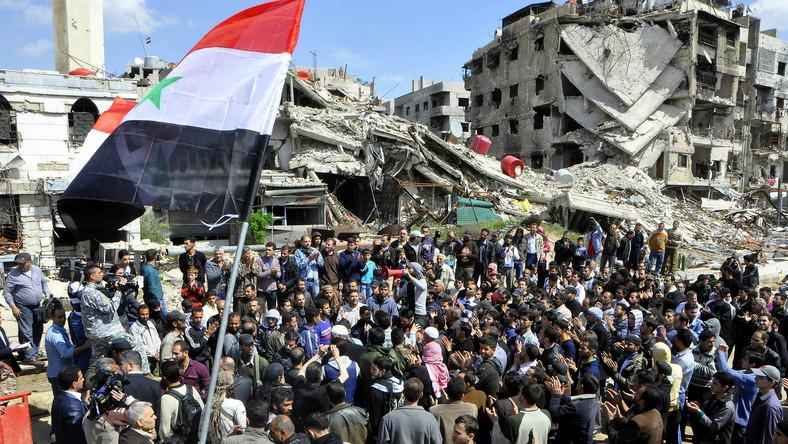 Uchodźcy w Syrii
