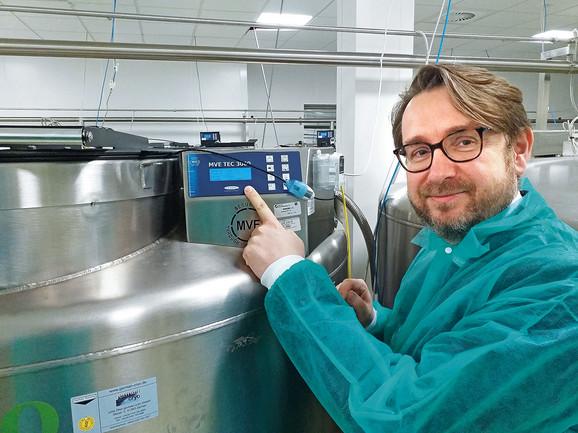Matične ćelije se čuvaju na temperaturama od -175 do -190 stepeni: Tomaž Baran, član borda direktora
