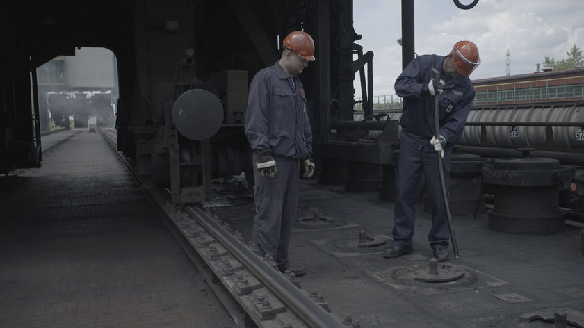 Saleta został górnikiem