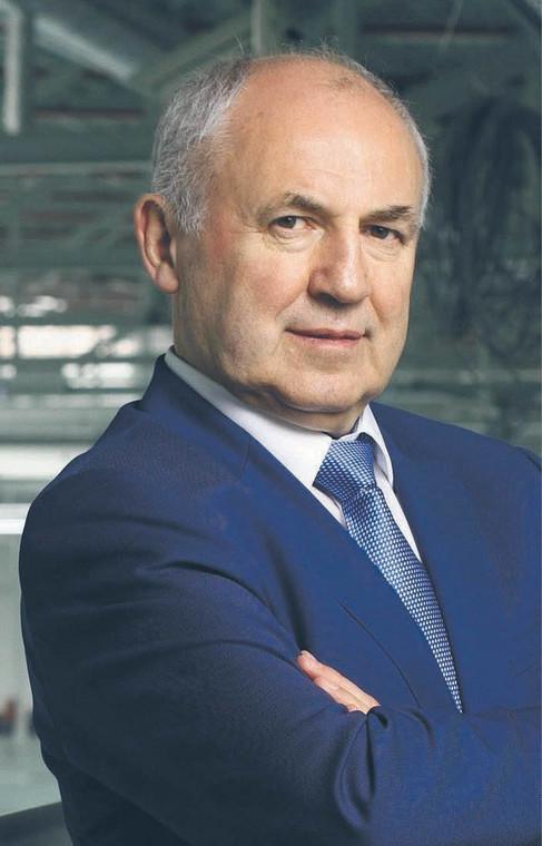 Leszek Gierszewski, prezes Drutexu fot. Krzysztof Mystkowski/mat. prasowe