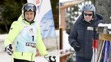 Pojedynek narciarzy. Tusk kontra Duda