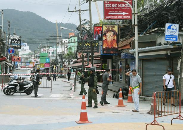 Seria ataków bombowym w Tajlandii