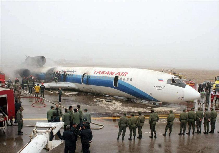 Iran zakazuje Tupolewów