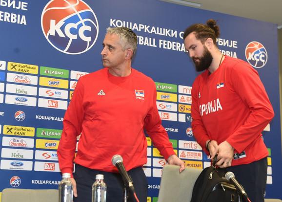 Igor Kokoškov i Miroslav Raduljica