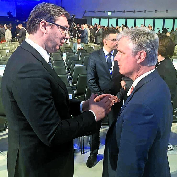 Vučić i O'Brajen