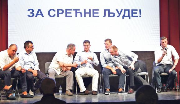 Lideri Saveza za Srbiju čije će stranke bojkovati predstojeće izbore