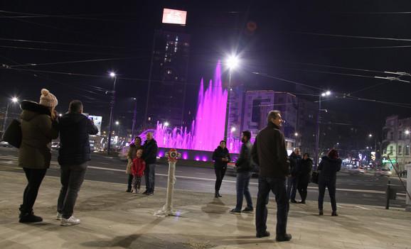 Fontana na Slaviji ostaće najveća