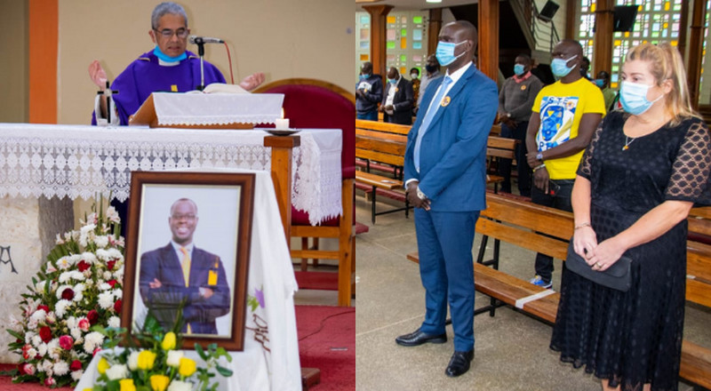Family and Friends of the late Ken Okoth converge in Church to mark 1-year anniversary (Photos)